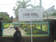 Papan nama Candi Kidal